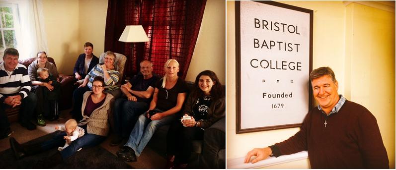 Our first cohort of Newbigin AssociatesAsh at Bristol Baptist College
